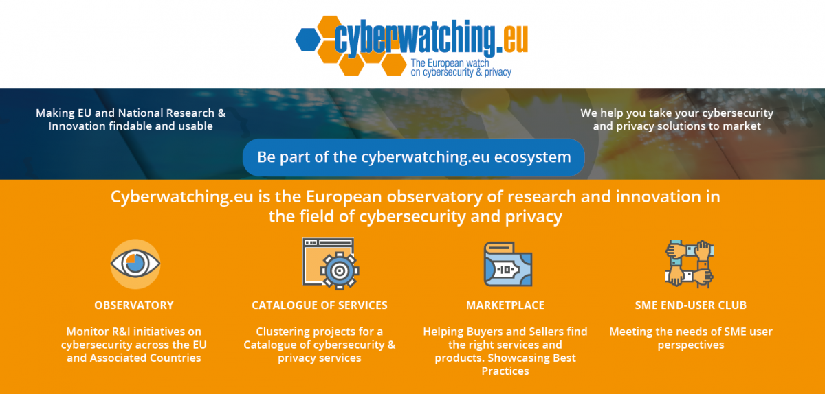 Cyberwatching.eu Flyer - May 2017