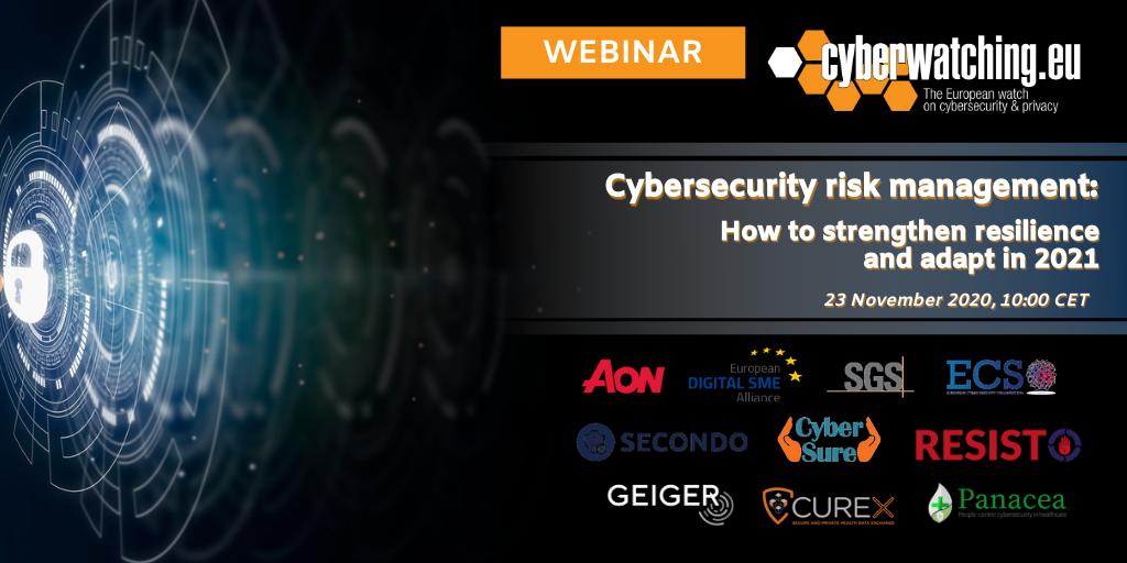 Cybersecurity Risk Management Webinar