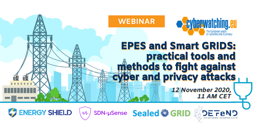 Cyberwatching Webinar on Energy & Smart GRID Sectors